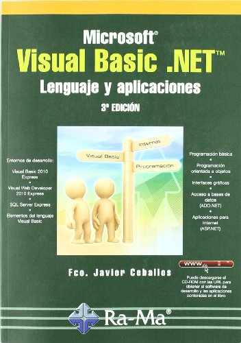 Microsoft Visual Basic .NET. Leng. y aplicaciones 3ª ed