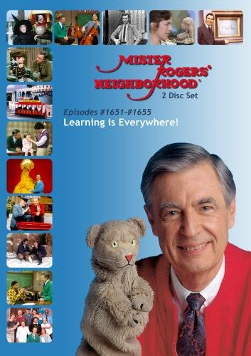 Mister Rogers' Neighborhood: (#1651-1655) We Learn Best from People Who Care About Us (2 Disc)