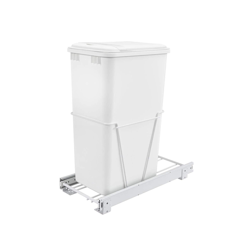 Rev-A-Shelf RV-12PB-50 50 Quart Pull-Out Sliding Bin Conta Waste Finally popular brand Max 61% OFF