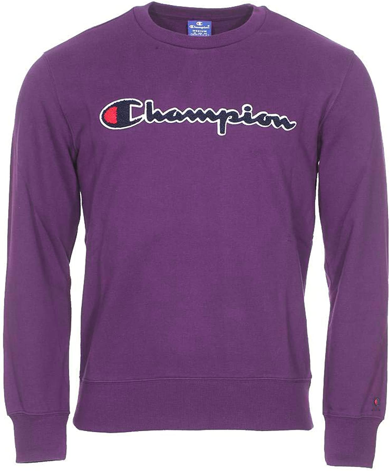 Champion Sweater Logo Purple L (Large)