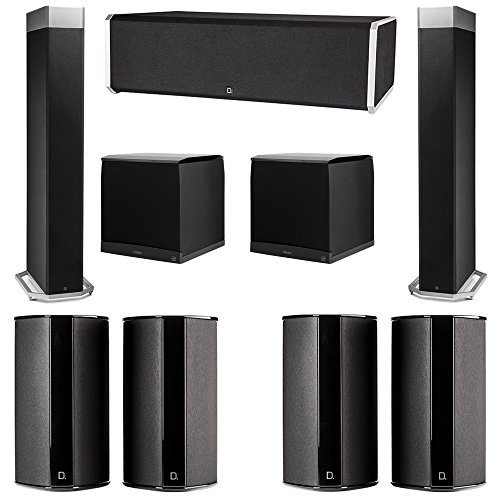 Buy Bargain Definitive Technology 7.2 System with 2 BP9080X Tower Speakers, 1 CS9080 Center Channel ...