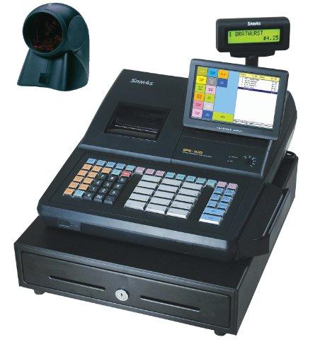 SAM4S SPS-530 RT Cash Register with MS7120 Orbital Scanner