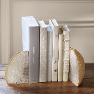 Geode Bookends, Set of 2 | Pottery Barn