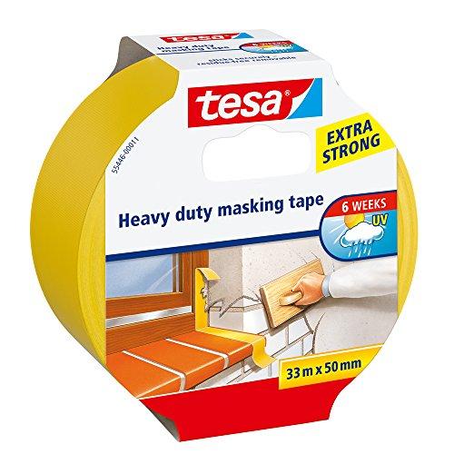 Tesa 55446-00011-01 Beschermband extra sterk voor het beschilderen en verpoetsen