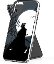 Case Phone Anti-Scratch Motion Picture Cases Cover Samurai Design in The Middle of The Night with A Very B Action Movies (5.8-inch Diagonal Compatible with iPhone 11 Pro)