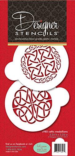 Celtic Medallions Cookie Stencil Set C985 by Designer Stencils