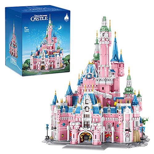 Juego de construcción de Castillo de ensueño, Edificio Modular de casa, Modelo de Arquitectura de Street View, Bloques de construcción de 10068 Piezas