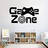 Game Zone Wandaufkleber Zitate Kunst Wandtattoos Für Kinder Home Dekore Tapete Jungen Schlafzimmer...
