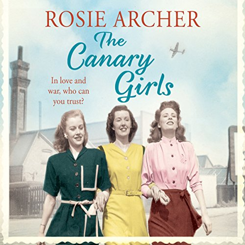 The Canary Girls audiobook cover art