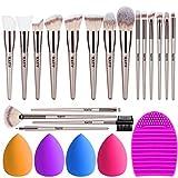 TEATTY Makeup Brushes 18 PCs Mak...