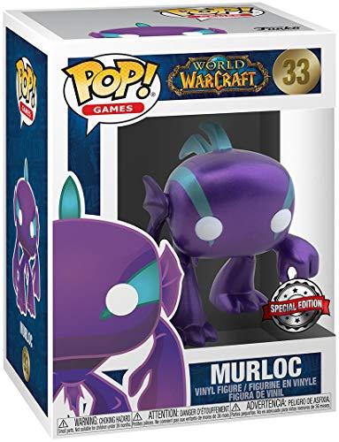 World of Warcraft Murloc Blizzard 30th (metalizado) Figura de vinilo 33 Unisex Funko Pop! Standard