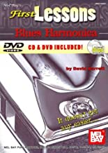First Lessons Blues Harmonica [With CD and DVD] [ FIRST LESSONS BLUES HARMONICA [WITH CD AND DVD] BY Barrett, David ( Author ) Jan-01-2010