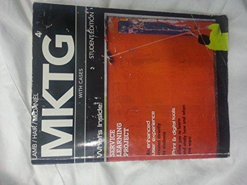 MKTG 4 W/CASES:2010-2011 ED.