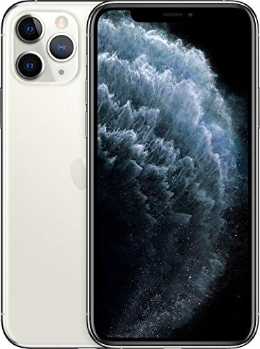 Apple iPhone 11 Pro, 64GB, Silver - For AT&T (Renewed)