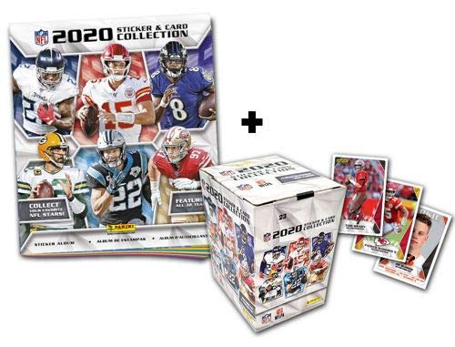 Panini NFL 2020 Sticker & Trading Cards - Box-Bundle