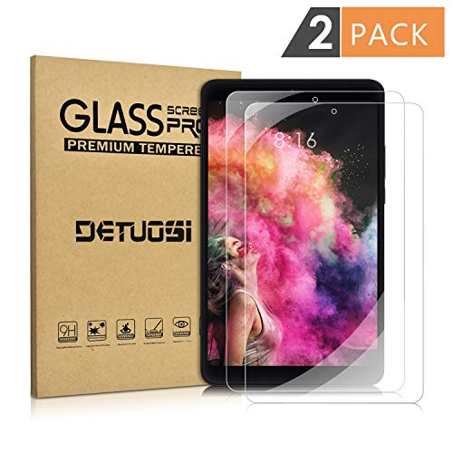 [2 Pack] Xiaomi Mi Pad 4 8.0 Screen Protector, [Scratch-Resistant] [No-Bubble ] Tempered Glass Screen Protector for 8.0'' Xiaomi Mipad 4