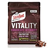 SlimFast Advanced Vitality Chocolate Intensity Meal Replacement Shake I Kalorienarmer Diät-Shake...