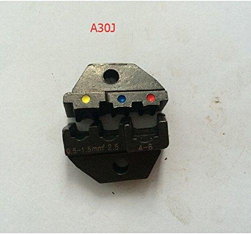 A30J Die Sets voor HS-30J FSE-30J AM-10 EM-6B1 EM-6B2 CRIMPING PILER Krimpmachine één set gereedschap