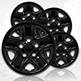 Upgrade Your Auto 18' Gloss Black Wheel Skins (Set of 4) for Toyota Tundra 2007-2017 - 69514