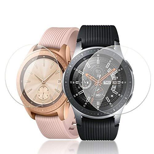BNBUKLTD - Protector de pantalla de cristal templado para Samsung Galaxy Watch (46 mm)