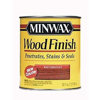 Minwax 70046 1 Quart Red Chestnut Wood Finish Interior Wood Stain