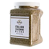 CLASSIC- Italian Gourmet Flavor for cooks who want a great quality seasoning ZESTY- Flavor with Basil, Oregano, Thyme, Rosemary, and Sage CONVENIENT- Bulk Package in 14oz family size GREAT Seasoning for all your pastas, meats, and salads Made from th...