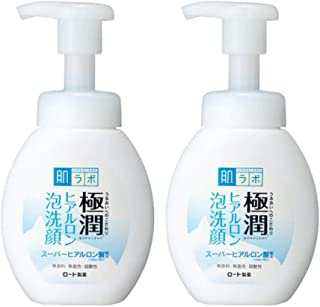 Hadalabo Japan Gokujyun Hyaluronic Acid Moisture Bubble Foaming Cleanser (160ml) 2set