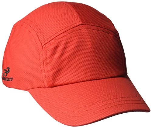 Headsweats Performance Race/Running/Outdoor Sports Hat, Race Hat Red, One Size