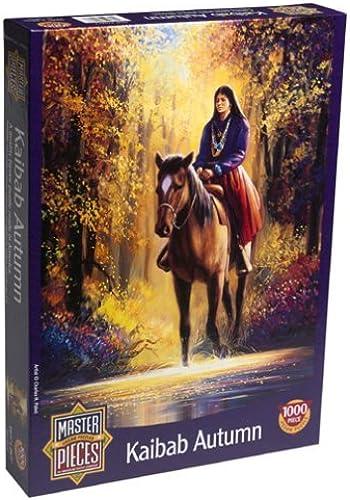 ganancia cero Kaibab Autumn 1000pc 1000pc 1000pc Jigsaw Puzzle by Master Pieces  comprar nuevo barato