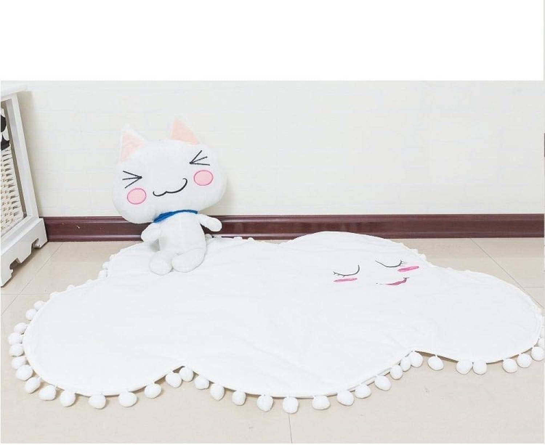 edición limitada en caliente WJNSTNBL Arrastre bebé Actividad Estera Cómodo Cómodo Cómodo Duradero tóxicoJuego de Lona de algodón en la Nube Que se arrastra Estera  calidad de primera clase