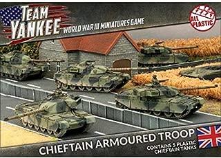 Team Yankee British Chieftain Armoured Platoon (Plastic) - Battlefront - TBBX01