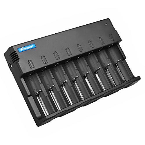Foxnovo F08 8-Slots Li-ion Ni-MH Ni-CD Universal Intelligent Battery...