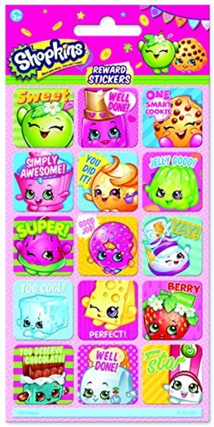 Paper Projects Shopkins Foiled Reward Stickers by Paper Projects