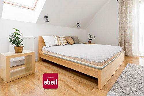 Abeil matrasbeschermer tegen mijten, wit 160 x 200 cm Wit.