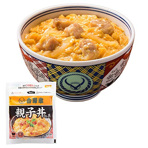 吉野家 [ 冷凍 親子丼の具 / 120g×3袋セット ] どんぶり (レンジ・湯せん調理OK)