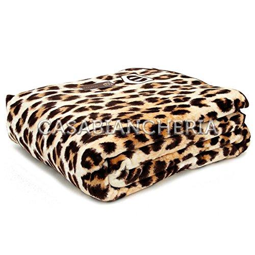 Non Brand MANTEROL Leopardo - Manta polar