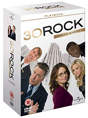 30 Rock Series - Complete Seasons 1-4 [12 Discs]