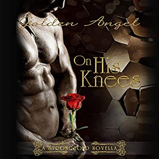On His Knees  audiobook cover art