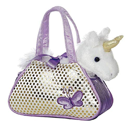 Aurora World Ltd Aurora, 32600, Fancy Pal, Peek-A-Boo Einhorn, 20cm, Plüschtier, lila