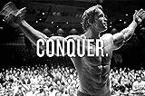 Conquer Arnold Schwarzenegger 12 x 16 inch poster Bhurma Collection