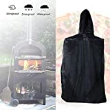 Magent - Funda para horno de pizza al aire libre, resistente al agua, resistente a la lluvia, cubierta para horno de pizza de leña, resistente a la intemperie y al polvo
