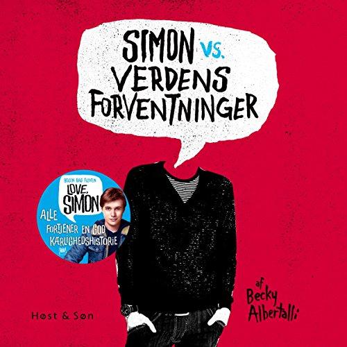 Simon vs verdens forventninger audiobook cover art