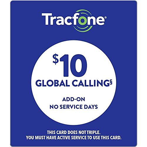 TracFone Wireless Global Calling Card - Enables Global International Calling - No Service Days, Does Not Include Service Minutes (Mail Delivery)