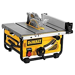 DEWALT DWE7480 Benchtop table saw review