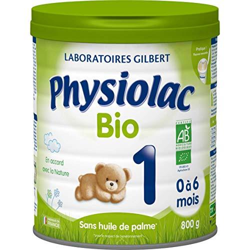 Physiolac Bio 1 De 0 À 6 Mois 800 g