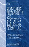 CRC Standard Probability and Statistics Tables and Formulae