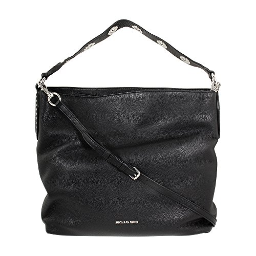 Color: Black Style: Shoulder Bag Material: Leather MEASUREMENTS: 13in H x 15in L x 4in W Series: Brooklyn