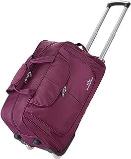 8a02abc5d75 Maleta con Bolsas De Viaje Ligeras E Impermeables Softshell Travel Business  Tote Bag Maleta con 2