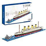 XIAODAN Titanic Toys Building Set Model Kit for Adults and Kids Mini Building Blocks 1872 Pieces with Color Package(New Version)