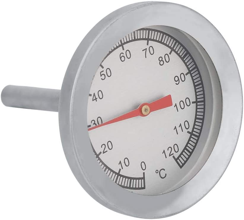 Al sold out. BBQ Temperature Seattle Mall Gauge Ranges Steel 0~120℃ Stainless from